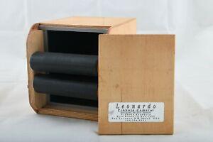 Leonardo 4x5 Wooden Pinhole Camera, 6 inch. Designed by Eric Renner.