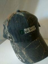 Nwt Mossy Oak Camo Biewer Lumber Hat official licensed Adjustable