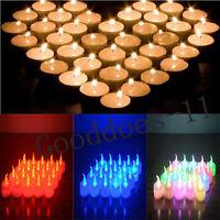 12x LED Teelichter Pusten Auspusten Flackernd Kerze Teelicht Neu LED-Ker Neu