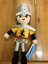 Official Playmoblie 30cm Soft Plush Toy. Knight.