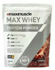 MAXIMUSCLE Max Whey Protein Powder Chocolate Flavour 480g BBE 10/2021