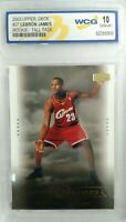 Lebron James 2003 UD  #27 Tall Task Rookie WCG 10 gem mint super hot rc Lebron