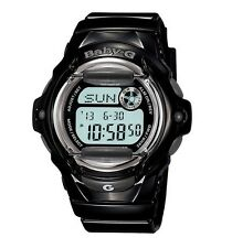 Casio Baby-G BG169R-1CU Whale Series Women's Black Resin Digital Watch