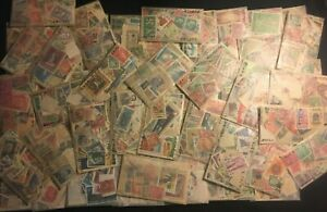 Worldwide Off Paper Stamps-Unsearched Collection LoT-Mint-used/glassines+150