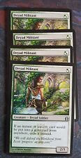 Mtg dryad militant  x 4 great condition