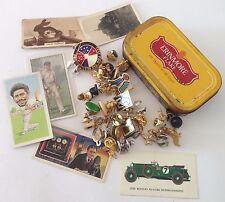 Erinmore Flake Tobacco Tin Cigarette Cards Mixed Pin Brooch Badge Lot (B56)