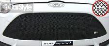 ZunSport Ford Focus ST MK3 2011> Black Steel Mesh Upper Grille