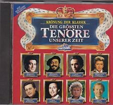 The largest Tenors of our time (Polystar) Placido Domingo, José Carrera... [CD]