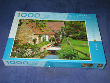 JERSEY, ST PETERS VALLEY rare 1000-pce King International jigsaw puzzle. Cottage