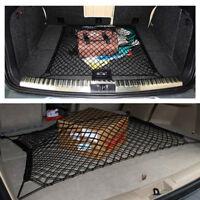 Car Rear Trunk Boot Floor Cargo Net Elastic Mesh Storage Fixed Nylon+Rubber Band