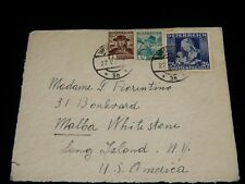 Vintage Cover, INNSBRUCK, AUSTRIA, 1936,Multi-Stamped Airmail To Long Island, NY