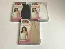 Womens Fruit of the Loom Cotton Stretch Cami U Pick Size and Color