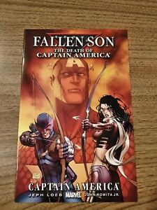 FALLEN SON DEATH OF CAPTAIN AMERICA #3 (MARVEL 2007) KATE BISHOP COVER VF+/NM