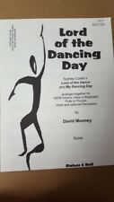Lot of 12 Lord of the Dancing Day SATB Choral Octavo Mooney flute violin drum