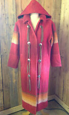 vtg WOOLRICH navajo BLANKET coat SIZE 12 pendleton STYLE native american RARE