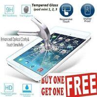 Premium Tempered Glass Screen Protector Film Guard For Apple iPad Mini 1 2 3 UK