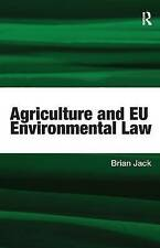 Agriculture and EU Environmental Law-ExLibrary