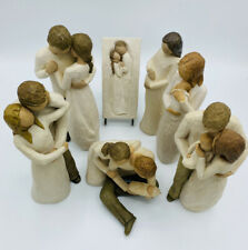 Willow Tree Figurines Lot of 7 Demdaco Family Collection Susan Lordi