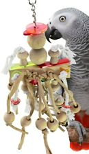 Bonka Bird Toys 1851 Crazy Dangler Toy Parrot Cage Cages African Grey Amazon