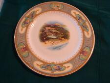 """Vintage 11 1/4"""" ELBOW BEACH HOTEL BERMUDA Plate Hood's Ltd   - VGC"""