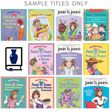 10 Pack Bundle Of Junie B Jones Home school Library Children's Chapter