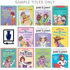 Complete lot of 10 random Junie B. Jones Chapter books Set Paperback Children