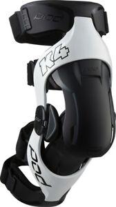 POD K4 V2.0 Knee Brace SET (White/Black) XS/SM