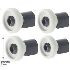 IKEA véritable Lave-vaisselle Top Upper Panier Runner Roller Wheels & Essieu Pins x 4