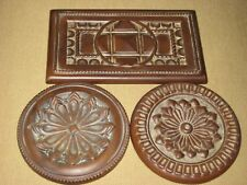 Southern Living At Home TRIVETS Manchester Trio #41076 Wall Plaques 3 Pc