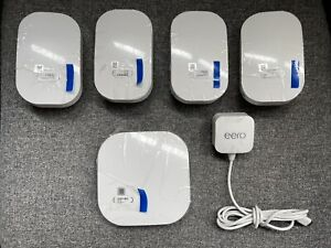 Eero 2nd Generation Home WiFi System - Main & 4 Beacons Mesh - New