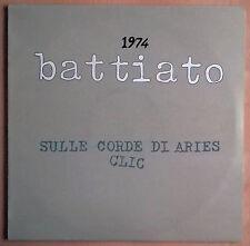 BATTIATO 1974 Sulle corde di Aries-Clic LP Italian Prog 1979 Comp NM