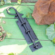 Bolzenriegel - Flachriegel Schubriegel Antik Riegel Verschluss Tor schwarz
