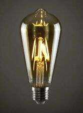 MiniSun 4w LED Vintage Style Squirrel Cage Lightbulb Warm White Light ES E27 a