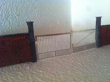 Cancello in metallo  Per Plastico Ferroviario