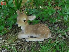 More details for fallow deer laying, lovely home or garden ornament. ultra realistic, vivid arts
