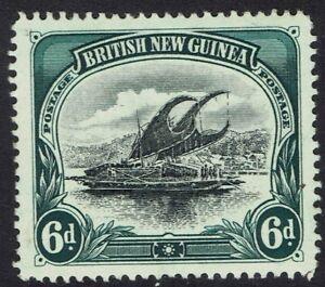 PAPUA 1901 LAKATOI BRITISH NEW GUINEA 6D VERTICAL WMK