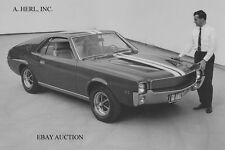 AMC AMX introduction 1968 -  AMC Javelin based musclecar publicity photo