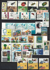 ISRAEL 1994 Complete Year Set With Tabs  34V + 1 S/S  MNH