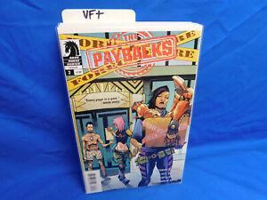 2015 DARK HORSE COMICS THE PAYBACKS #2 Donny Cates