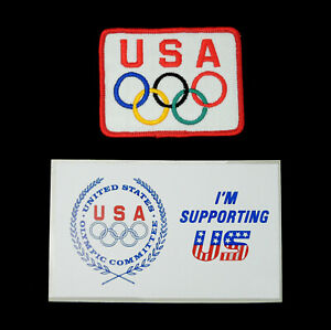 Olympic Patch and Decal 1988