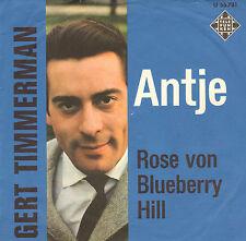 "GERT TIMMERMAN - Antje (1963 SCHLAGER VINYL SINGLE 7"" GERMAN PS)"