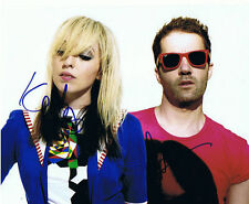 THE TING TINGS signed 8x10 photo b PROOF
