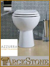 ARCKSTONE Igienici Sanitari Bagno Vaso WC Toilette Ceramica Bianco Azzurra Diana