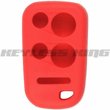 New Red Keyless Entry Remote Key Fob Clicker Case Skin Jacket Cover Protector