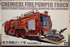 Feuerwehr Chemical Fire Pumper Truck , 1:72, Aoshima 012062 neu 2016 neu neu