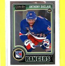 """ANTHONY DUCLAIR  14-15  """"ROOKIE OPC PLATINUM""""  #169  NY Rangers"""