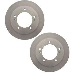 Front Disc Brake Rotors /& Metallic Pads 6PCS For Suzuki Samurai