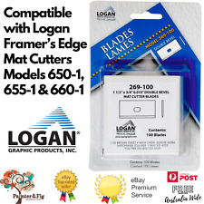 Logan 268-100 or 269-100 Replacement Mat Cutting Blades for 650-1, 655-1 & 660-1