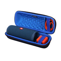 LTGEM Travel Case for JBL FLIP 5 Waterproof Portable Bluetooth Speaker - Blue