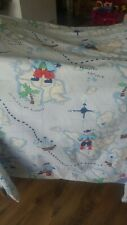 Light Blue Pirate Curtains 210cm x 180cm